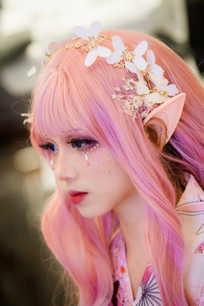 Cosplay_wig_pink